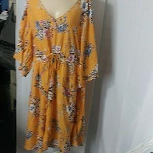 torrid Dresses - Torrid Kimono sleeve Dress